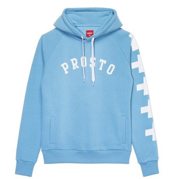 PROSTO HOODIE WOMAN ICEARC BLUE
