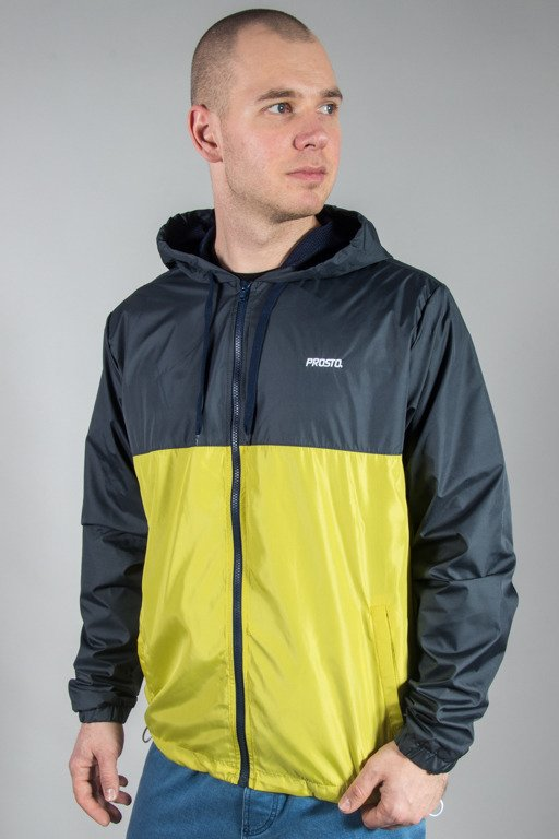 PROSTO JACKET WINDRUNNER POURING LIME GREEN