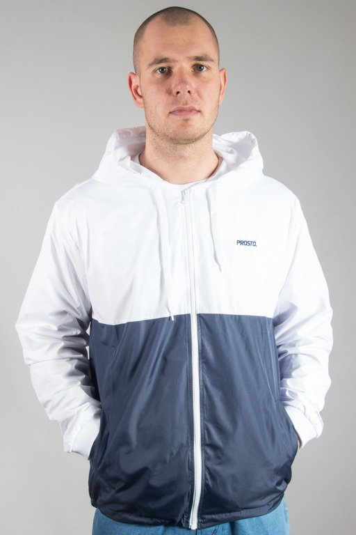 PROSTO  JACKET ZIP WINDRUNNER FREEZER NAVY