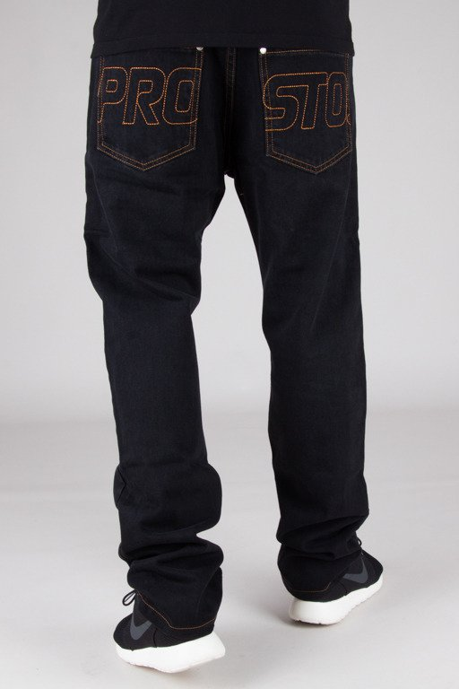 PROSTO JEANS REGULAR BLACK