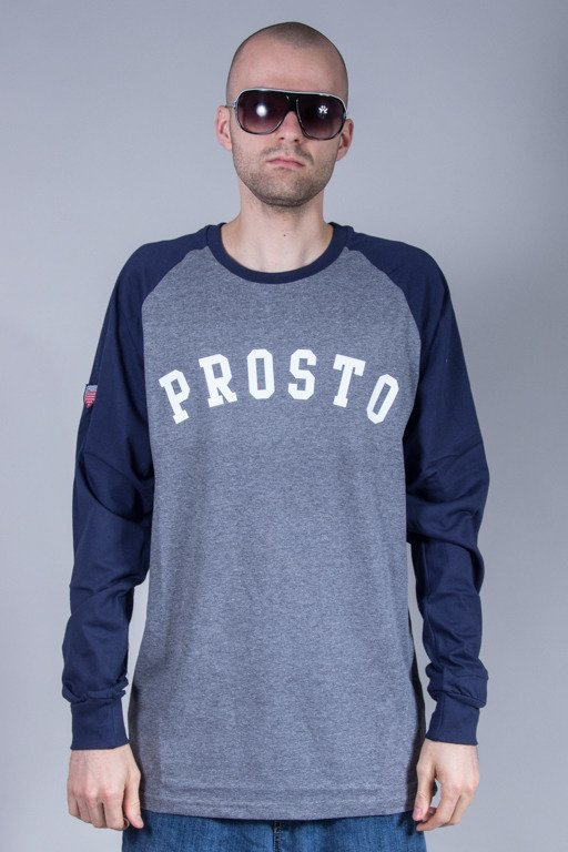 PROSTO LONGSLEEVE ARC GREY-NAVY