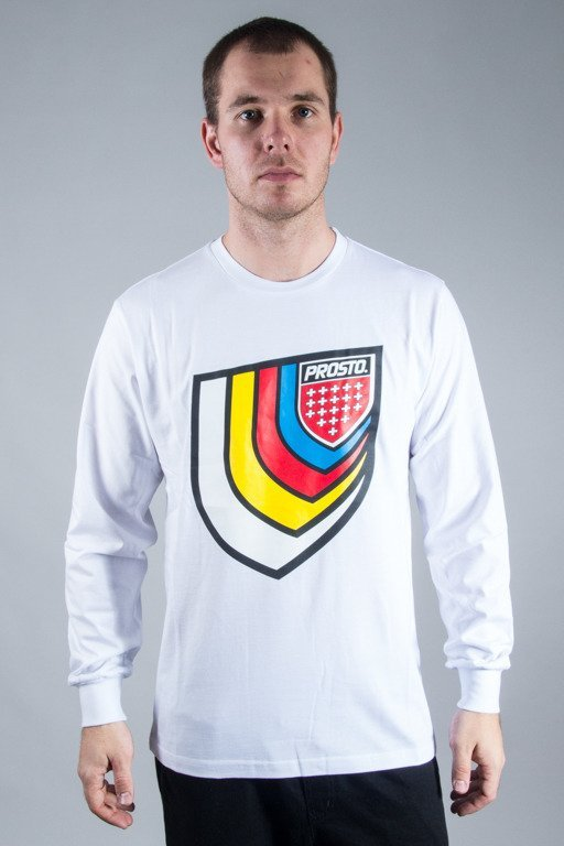 PROSTO LONGSLEEVE DIMENSION WHITE