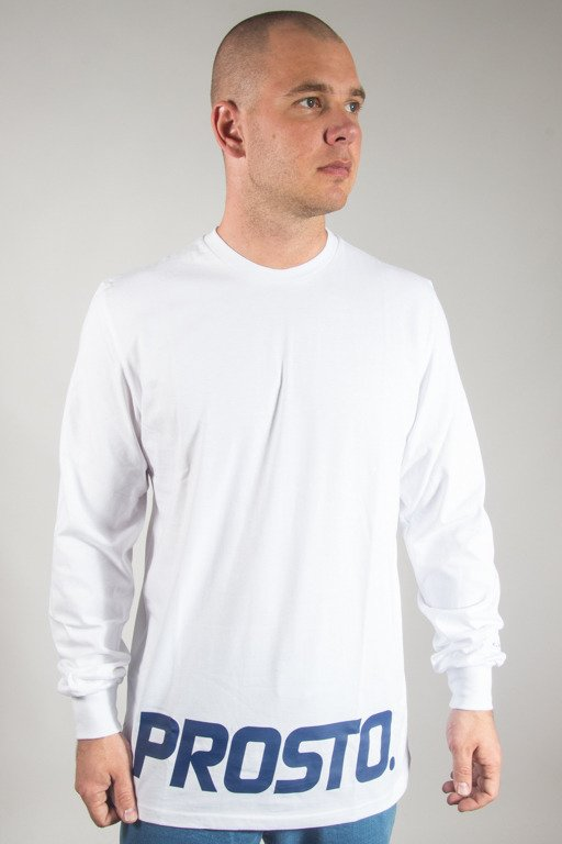 PROSTO LONGSLEEVE LOW DOWN WHITE