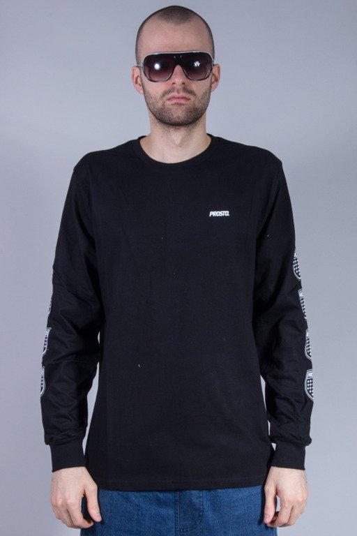 PROSTO LONGSLEEVE QUADRUPLE BLACK