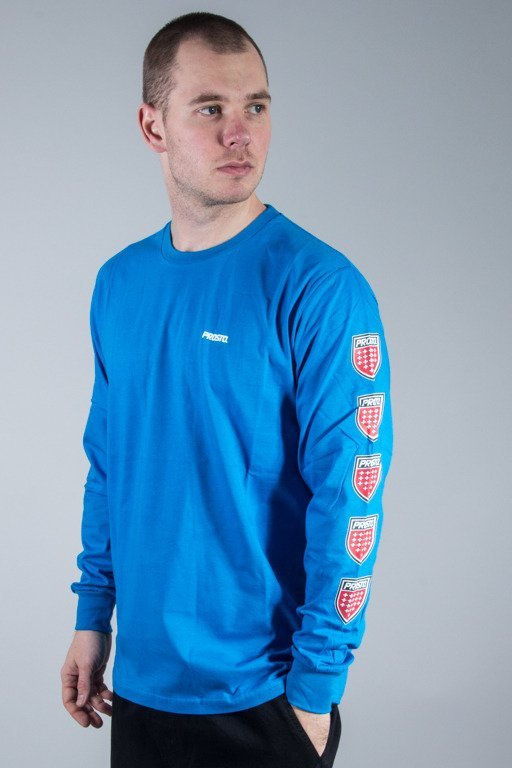 PROSTO LONGSLEEVE QUADRUPLE BLUE