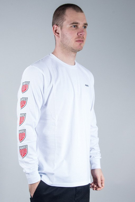 PROSTO LONGSLEEVE QUADRUPLE WHITE