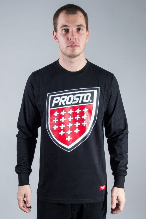 PROSTO LONGSLEEVE SHIELD BLACK