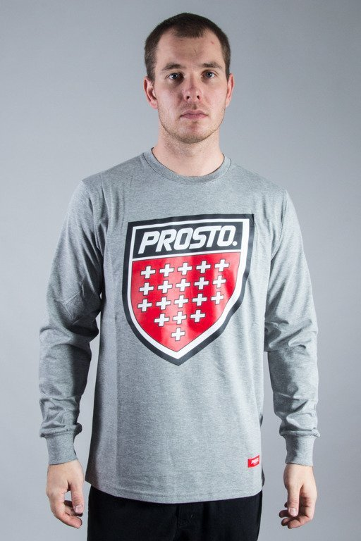 PROSTO LONGSLEEVE SHIELD GREY