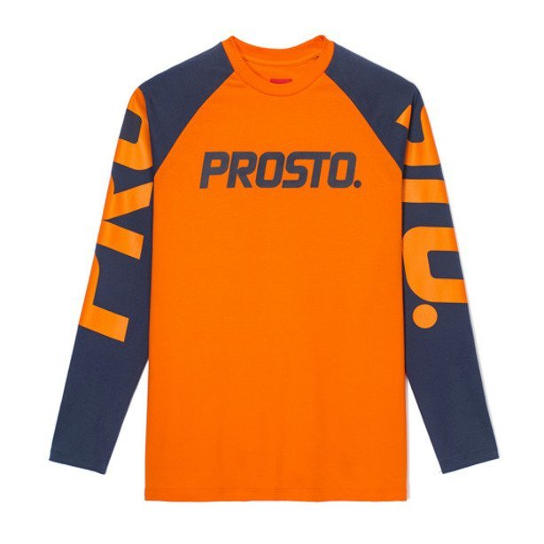 PROSTO LONGSLEEVE WOMAN CHUTE ORANGE