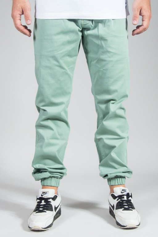 PROSTO PANTS CHINO JOGGER ACID GREEN