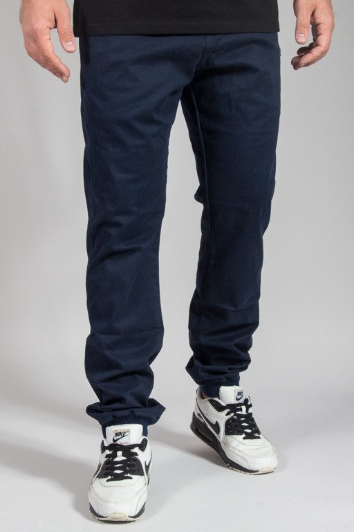 PROSTO PANTS CHINO JOGGER REGULAR COSTE NAVY
