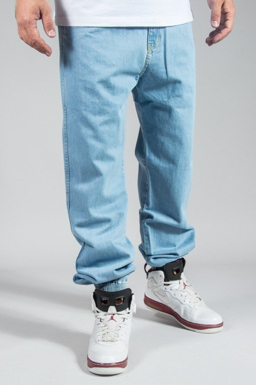 PROSTO PANTS JEANS JOGGER REGULAR LIGHT