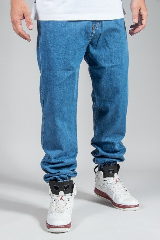 PROSTO PANTS JEANS JOGGER REGULAR MEDIUM