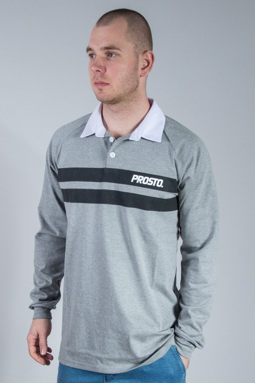 PROSTO POLO LONG ALIGHT GREY