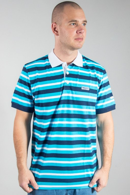 PROSTO POLO SHORT NEXT BLUE