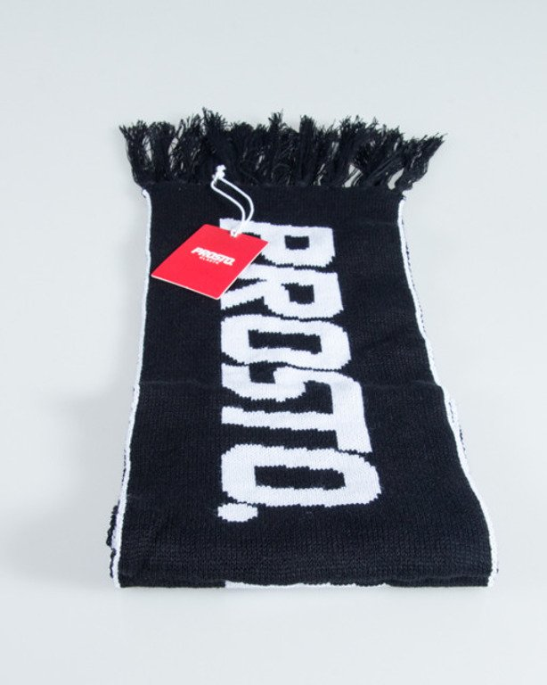 PROSTO SCARF NECK BLACK