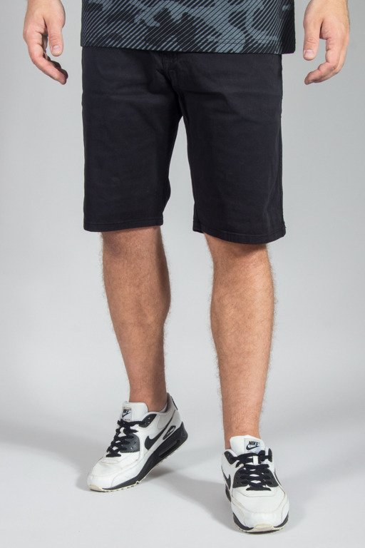 PROSTO SHORTS CHINO ACID BLACK