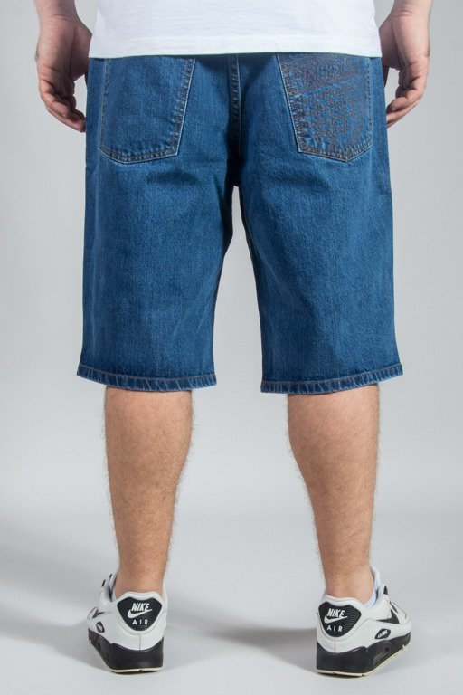 PROSTO SHORTS JEANS FLAVOUR NAVY