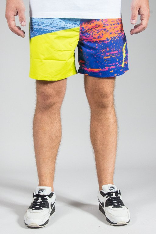 PROSTO SHORTS JETSKI SPLASH GREEN