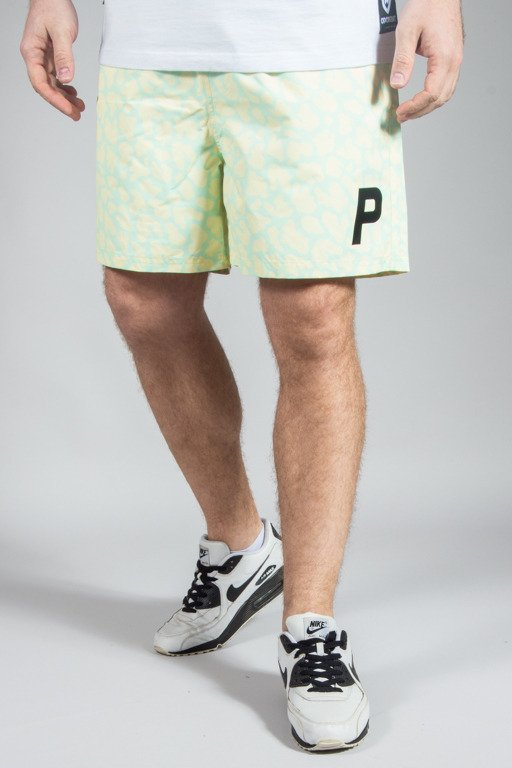 PROSTO SHORTS SHARK ACID YELLOW
