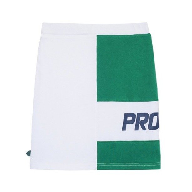 PROSTO SKIRT WOMAN LINE WHITE