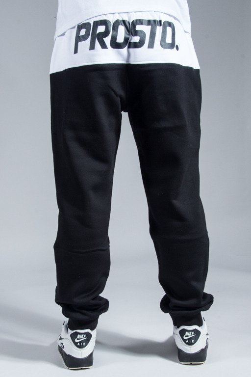 PROSTO SWEATPANTS AROUND BLACK