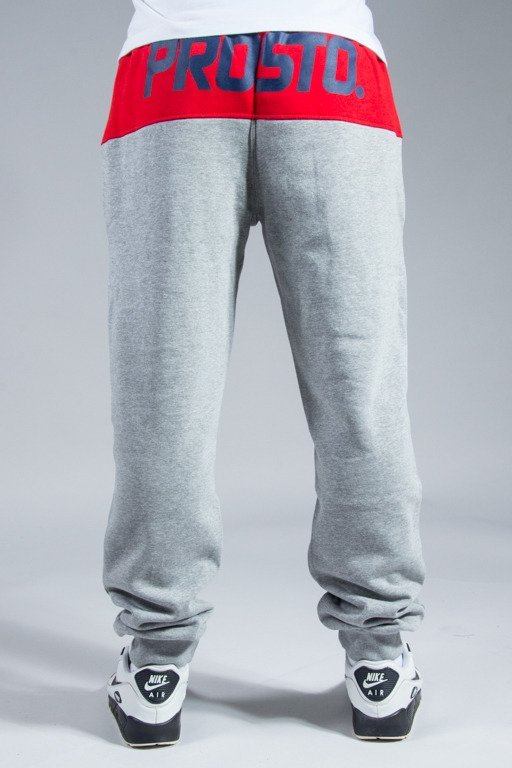 PROSTO SWEATPANTS AROUND GREY