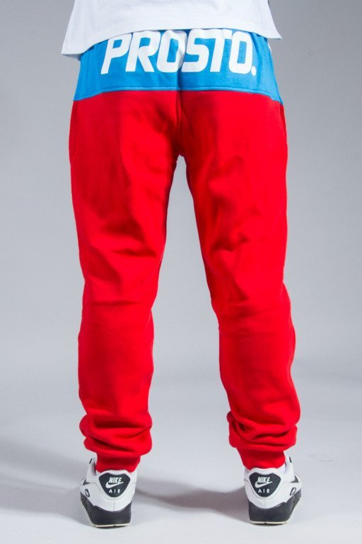 PROSTO SWEATPANTS AROUND RED