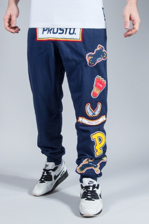 PROSTO SWEATPANTS FRESH VISION NAVY