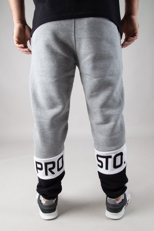 PROSTO SWEATPANTS SELLO GREY