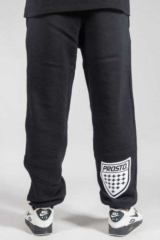 PROSTO SWEATPANTS SHIELD BLACK