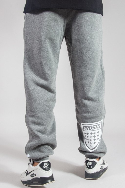 PROSTO SWEATPANTS SHIELD GREY