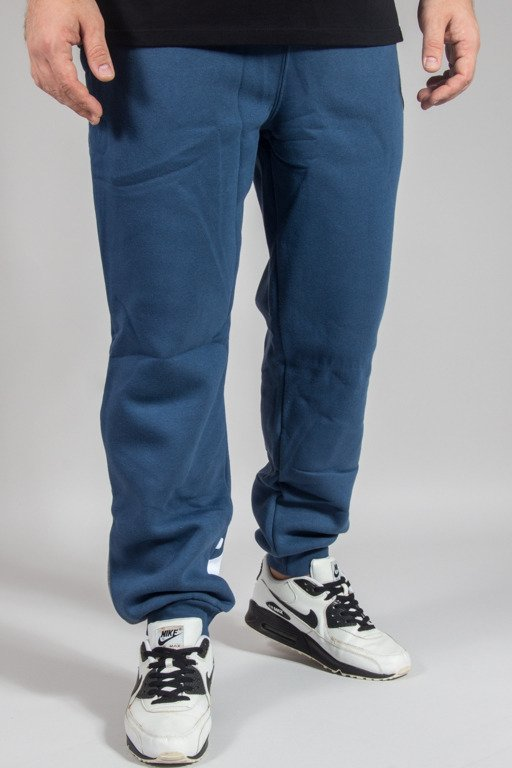 PROSTO SWEATPANTS STRIP NAVY