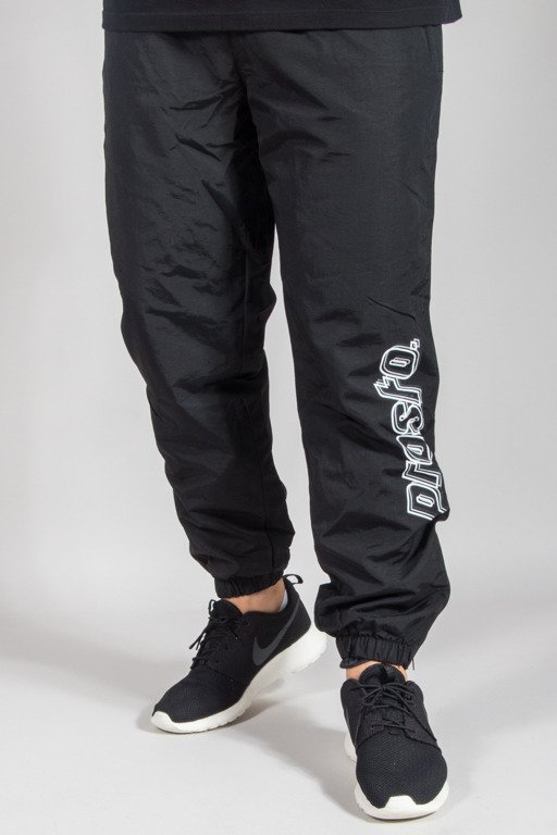 PROSTO SWEATPANTS STRIPES BOTTOM BLACK