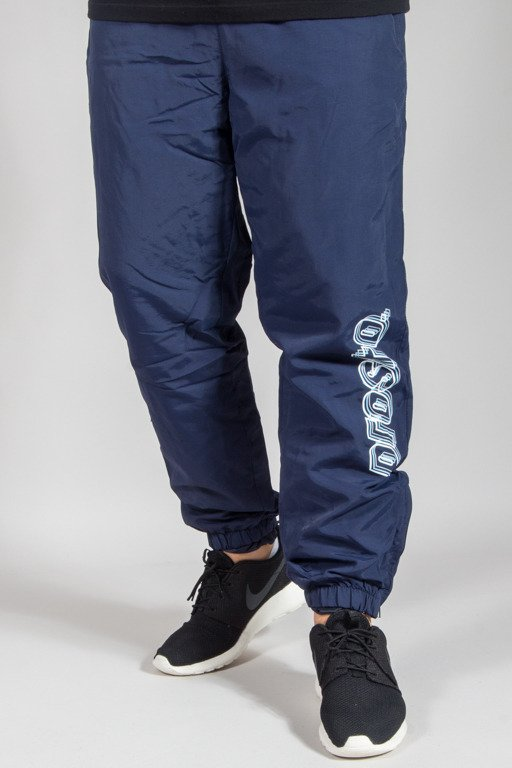 PROSTO SWEATPANTS STRIPES BOTTOM NAVY