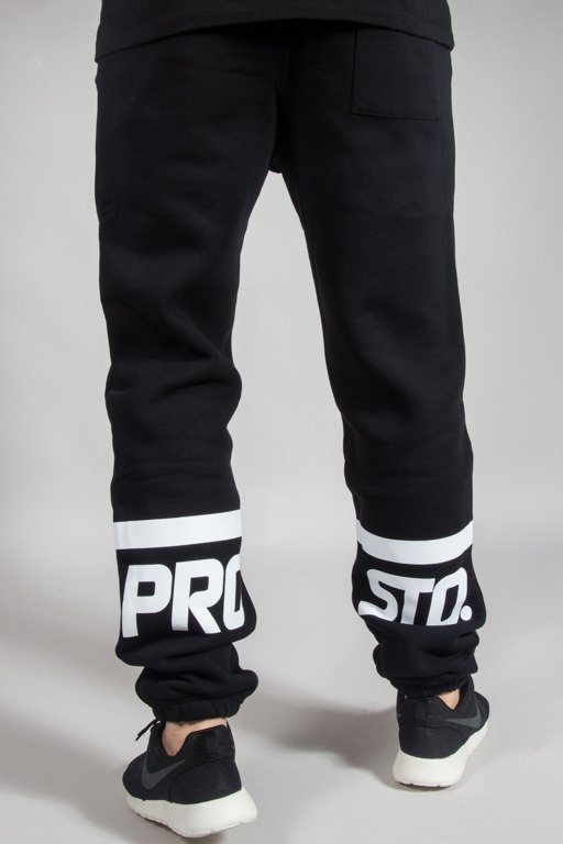 PROSTO SWEATPANTS VIGOR BLACK