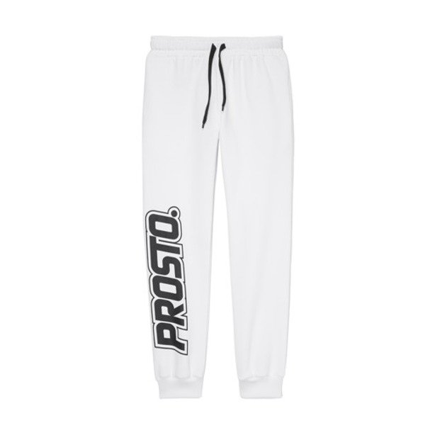 PROSTO SWEATPANTS WOMAN WIN WHITE