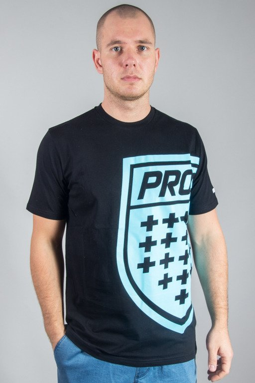 PROSTO T-SHIRT BIG SHIELD BLACK