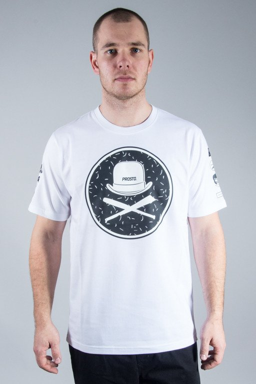 PROSTO T-SHIRT CLOCKWORK WHITE