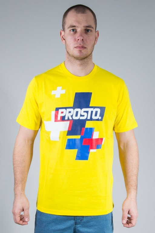 PROSTO T-SHIRT COPSE YELLOW