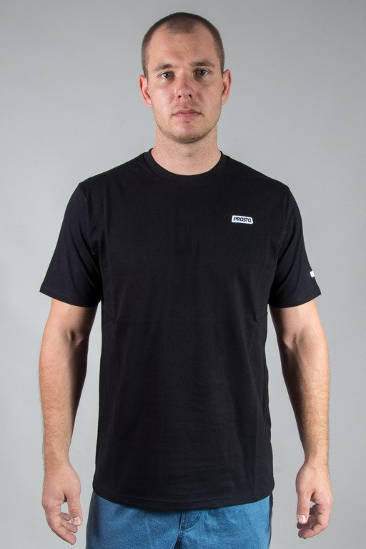 PROSTO T-SHIRT COSTE BLACK