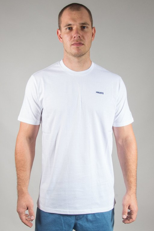 PROSTO T-SHIRT COSTE WHITE