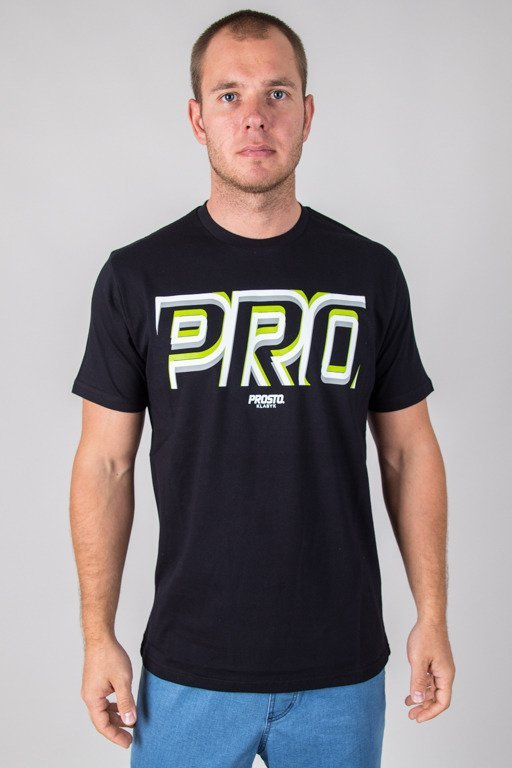 PROSTO T-SHIRT FOCUS BLACK
