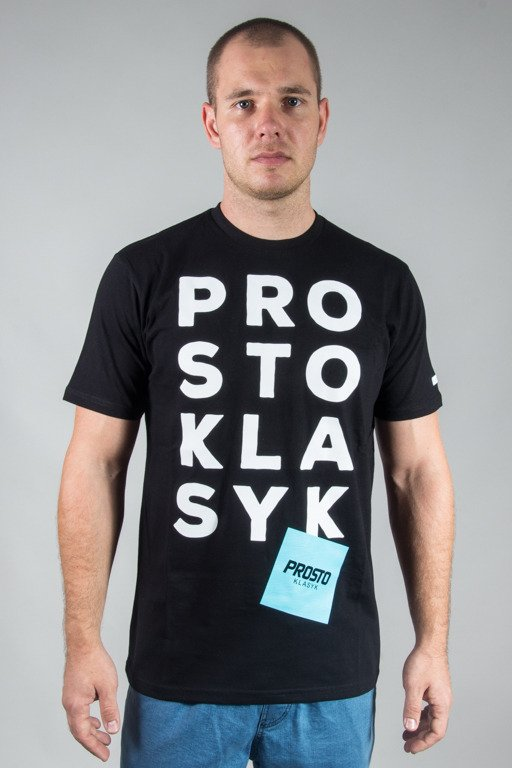 PROSTO T-SHIRT HUGE BLACK