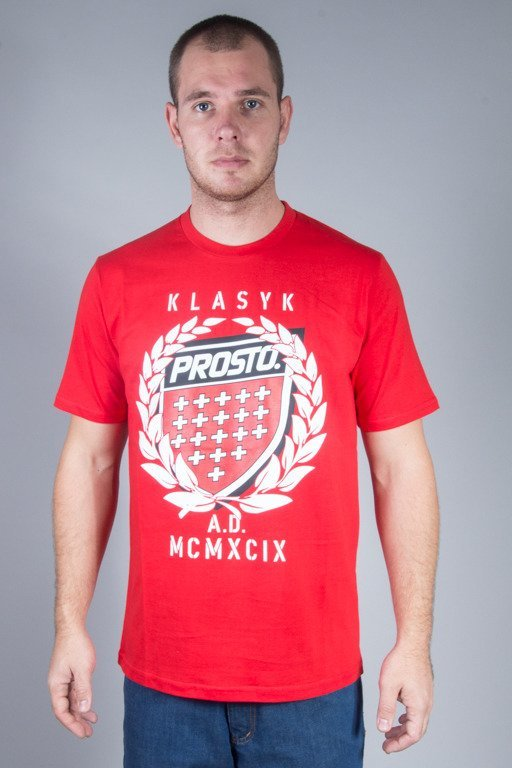 PROSTO T-SHIRT KING RED