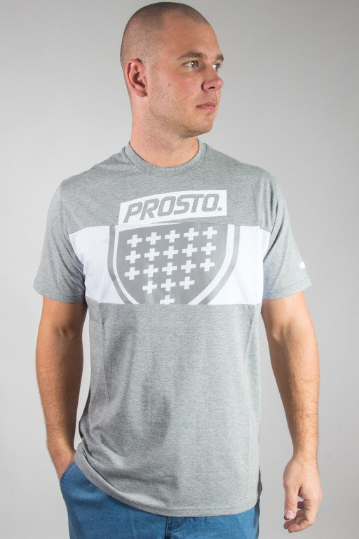 PROSTO T-SHIRT LAYER SHIELD GREY