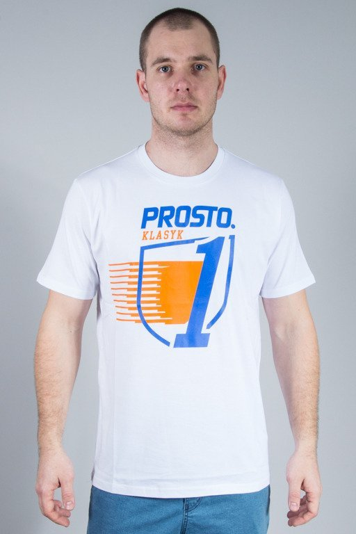 PROSTO T-SHIRT LIGHTING WHITE