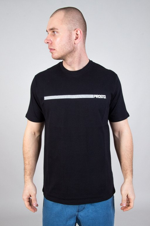 PROSTO T-SHIRT MENTAL BLACK