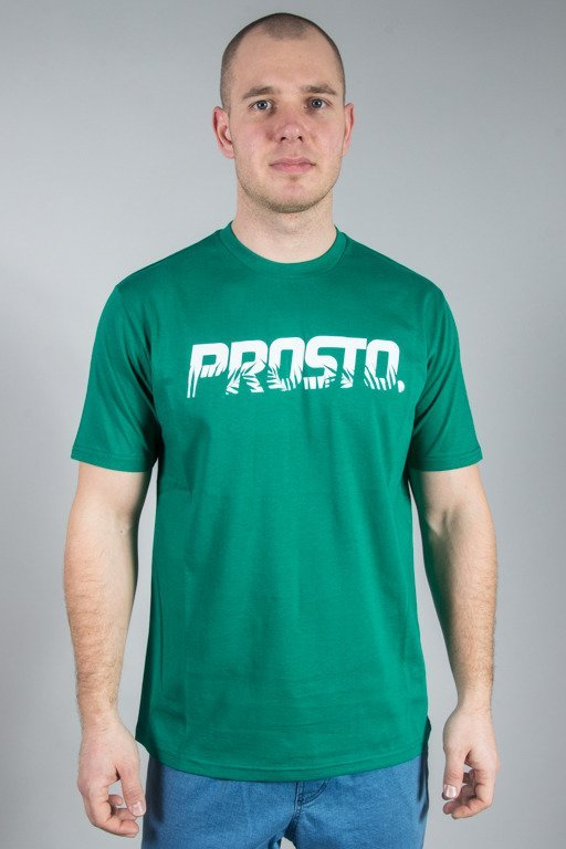 PROSTO T-SHIRT PALM GREEN