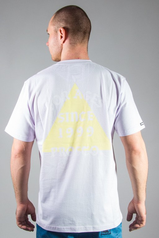 PROSTO T-SHIRT PIRAMIDE ACID PURPLE